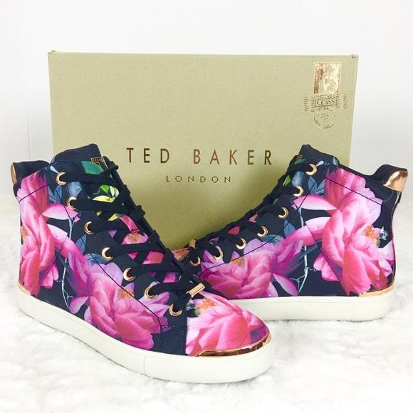 32fda2390 Ted Baker London Sneakers Vleil Citrus Bloom Sz 9M